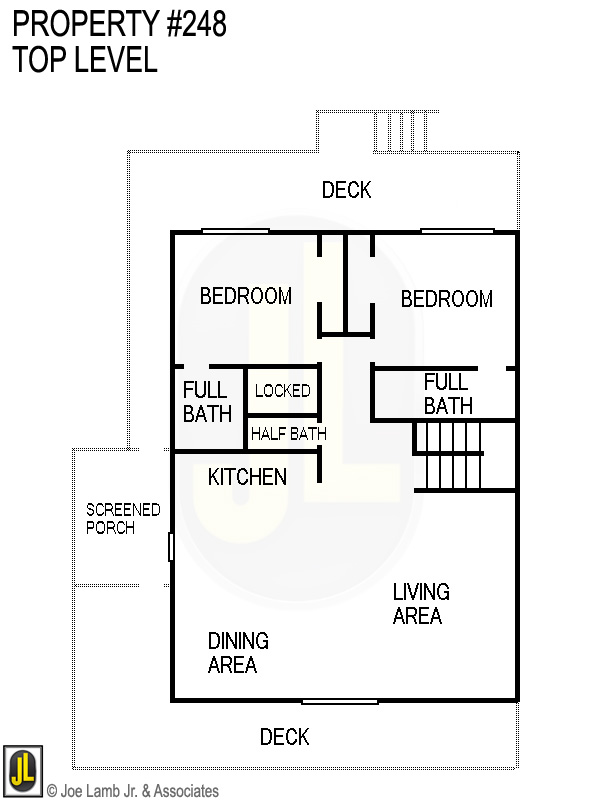 Floorplan: 248 Top Level