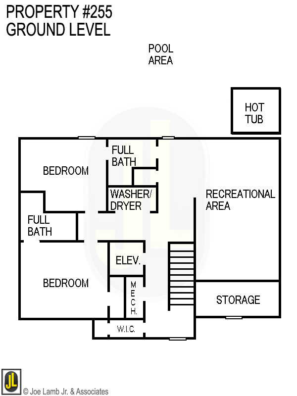 Floorplan: 255 Ground Level
