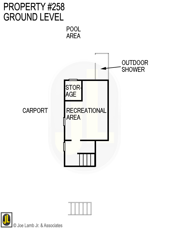 Floorplan: 258 Ground Level