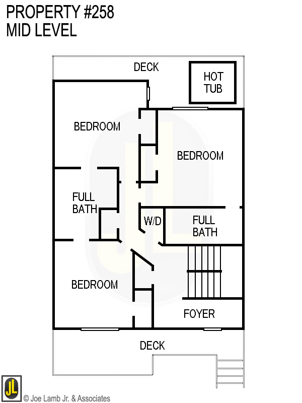 Floorplan: 258 Mid Level