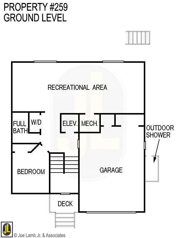 Floorplan: 259 Ground Level