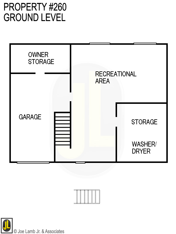 Floorplan: 260 Ground Level