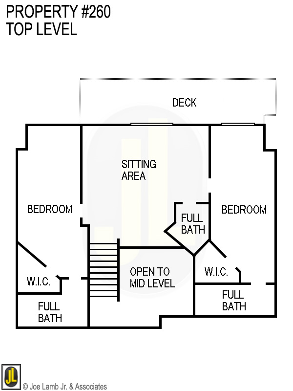 Floorplan: 260 Top Level