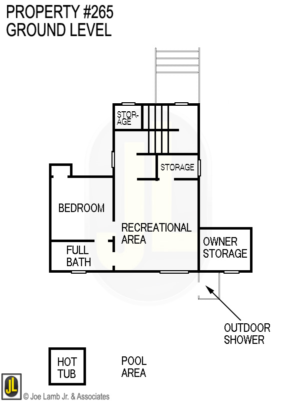 Floorplan: 265 Ground Level
