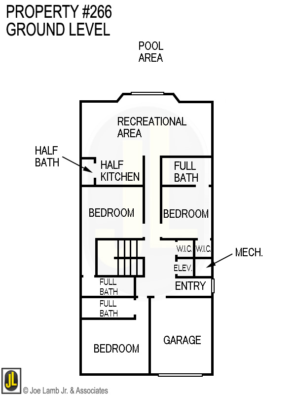 Floorplan: 266 Ground Level