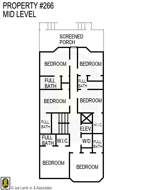 Floorplan: 266 Mid Level