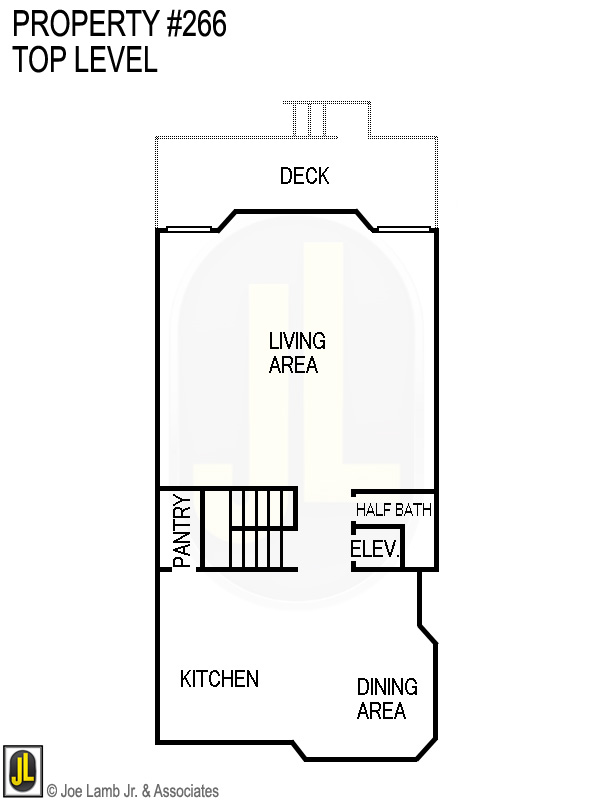 Floorplan: 266 Top Level