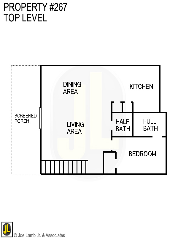 Floorplan: 267 Top Level