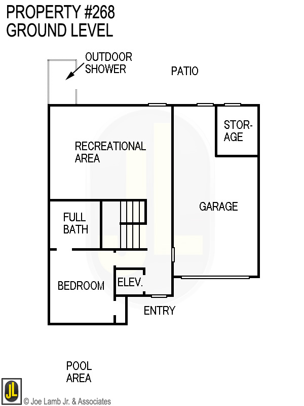 Floorplan: 268 Ground Level
