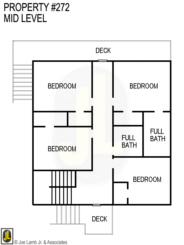 Floorplan: 272 Mid Level