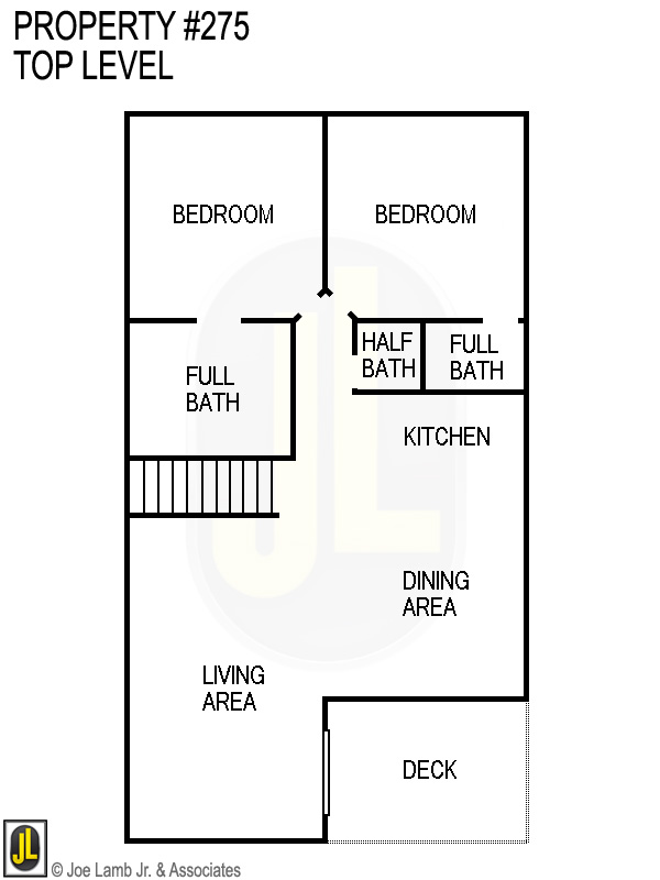 Floorplan: 275 Top Level