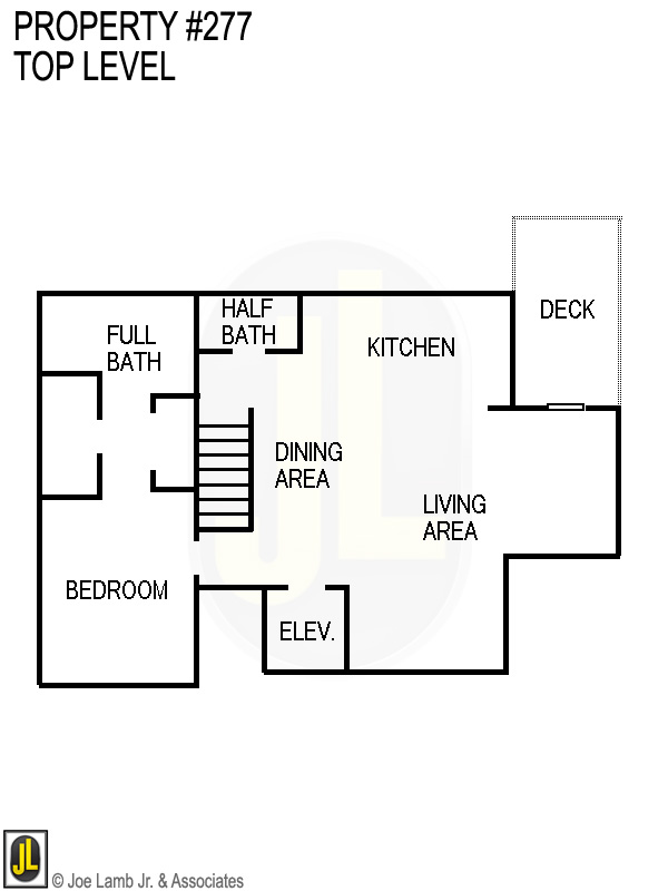 Floorplan: 277 Top Level