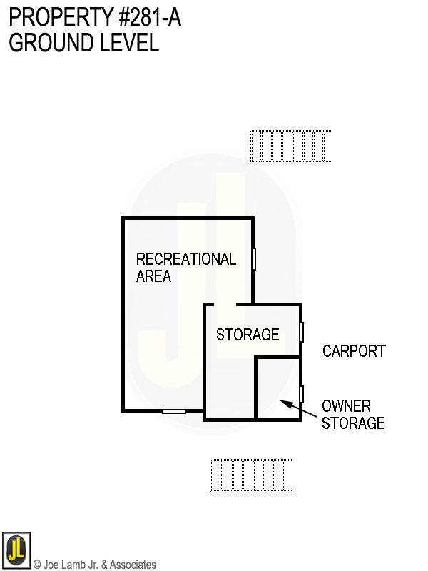 Floorplan: 281-A Ground Level