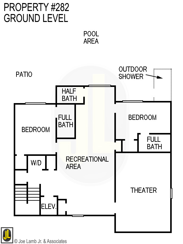 Floorplan: 282 Ground Level