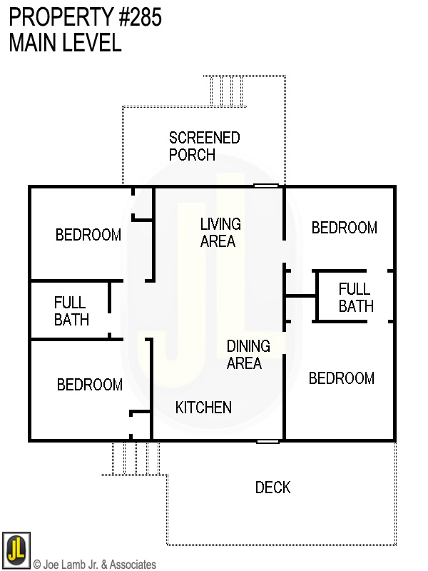 Floorplan: 285 Main Level