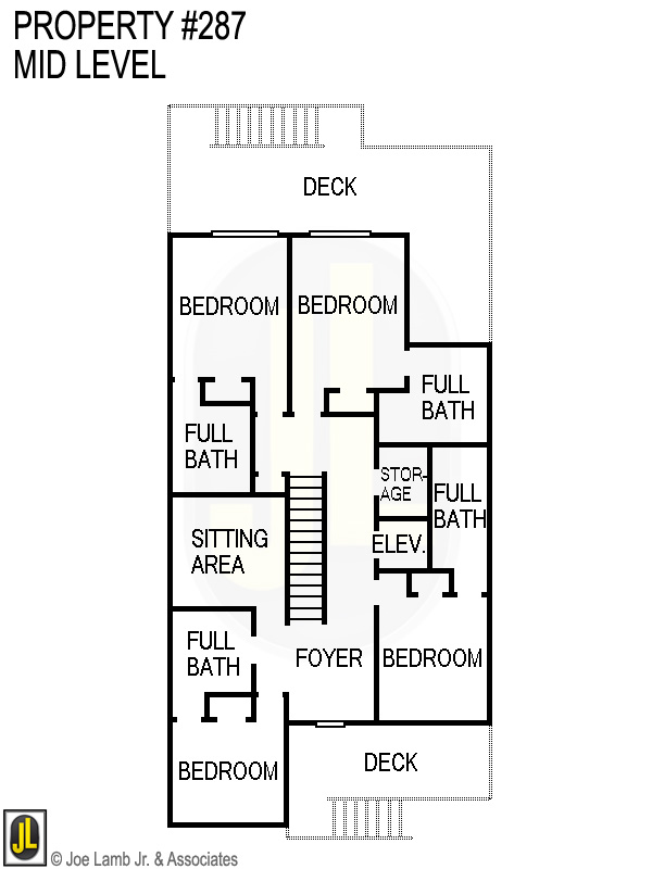 Floorplan: 287 Mid Level