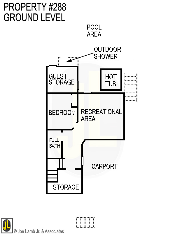 Floorplan: 288 Ground Level
