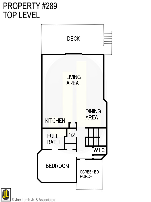 Floorplan: 289 Top Level