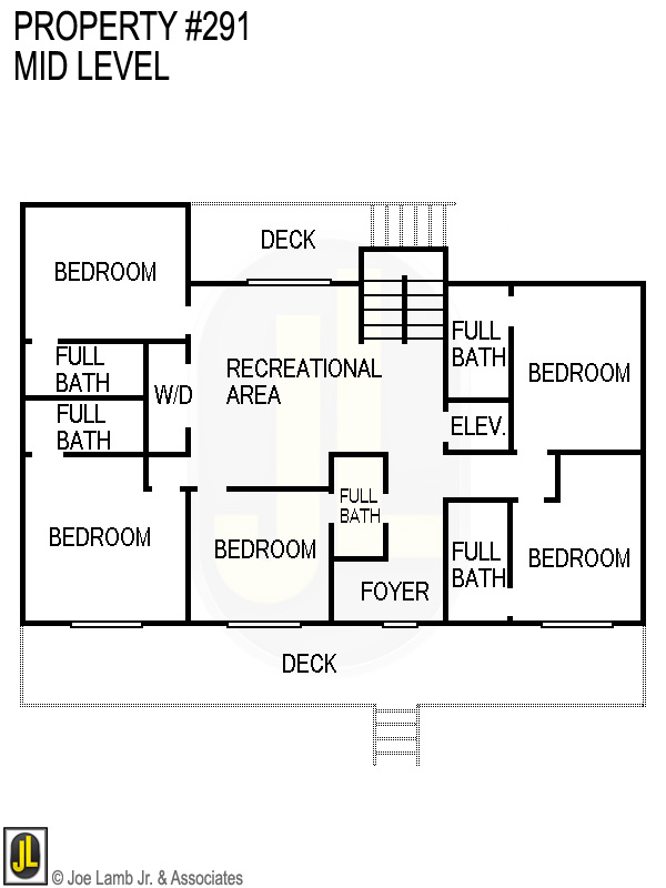 Floorplan: 291 Mid Level