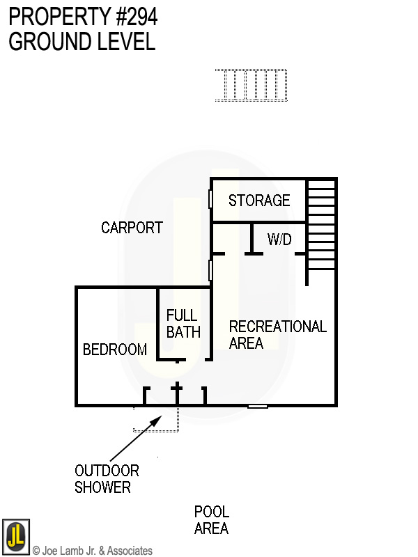 Floorplan: 294 Ground Level