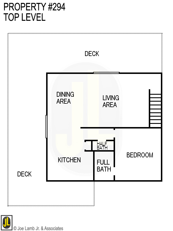 Floorplan: 294 Top Level