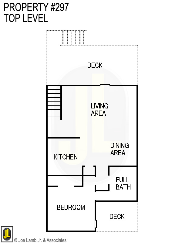 Floorplan: 297 Top Level