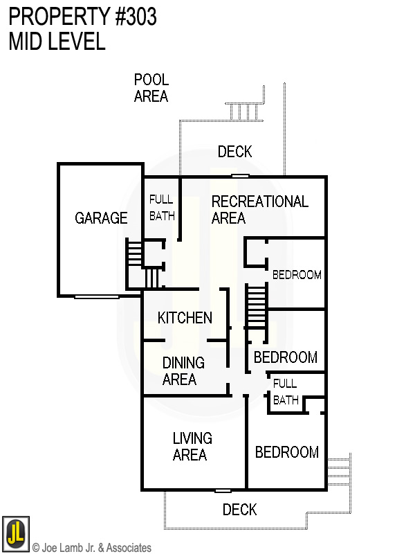 Floorplan: 303 Mid Level