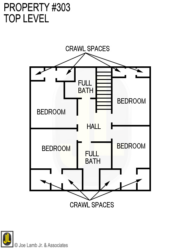 Floorplan: 303 Top Level