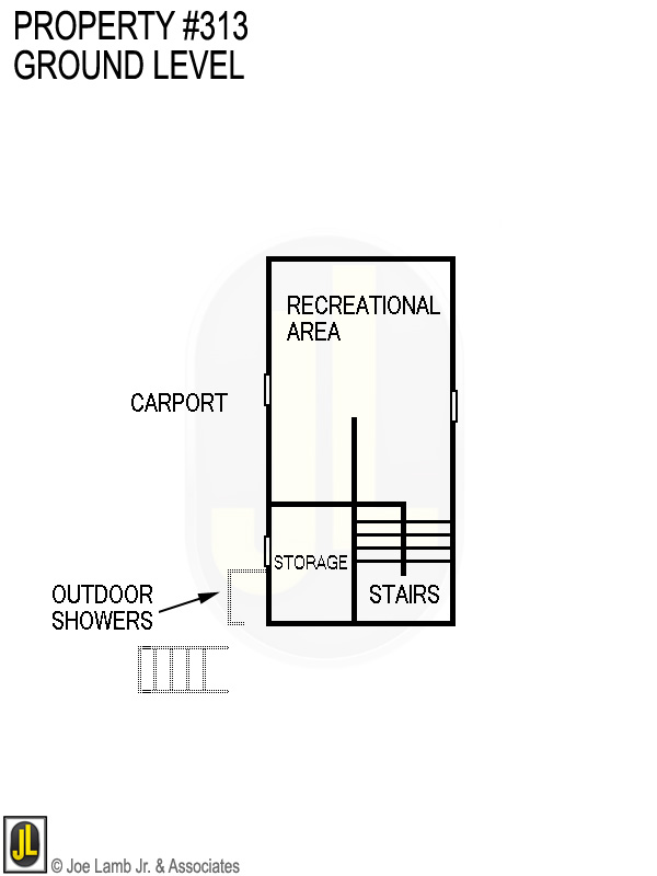 Floorplan: 313 Ground Level
