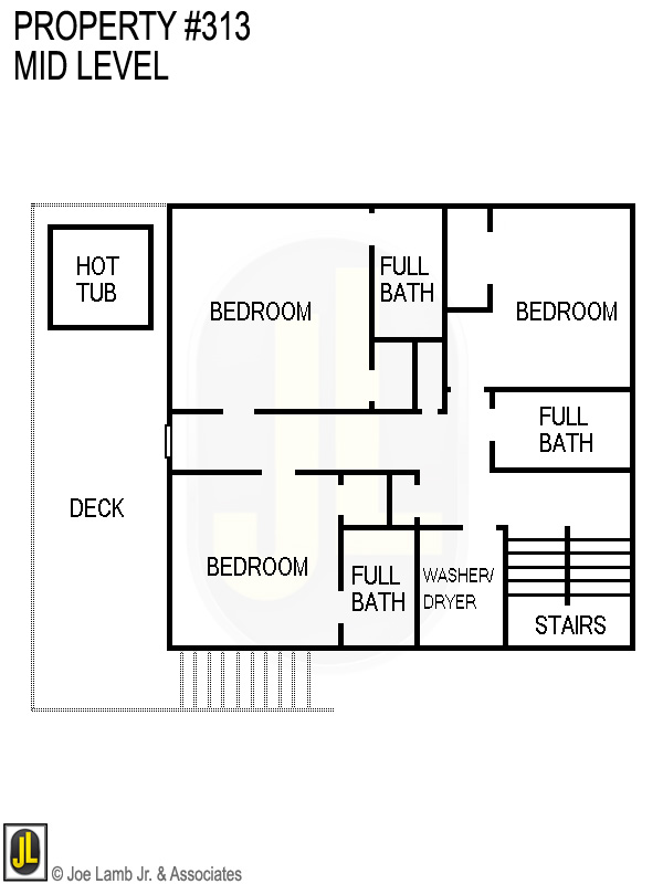 Floorplan: 313 Mid Level