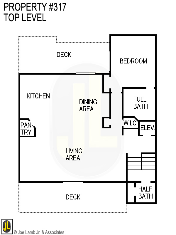 Floorplan: 317 Top Level