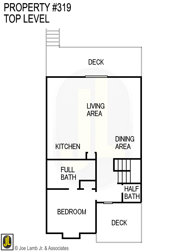 Floorplan: 319 Top Level