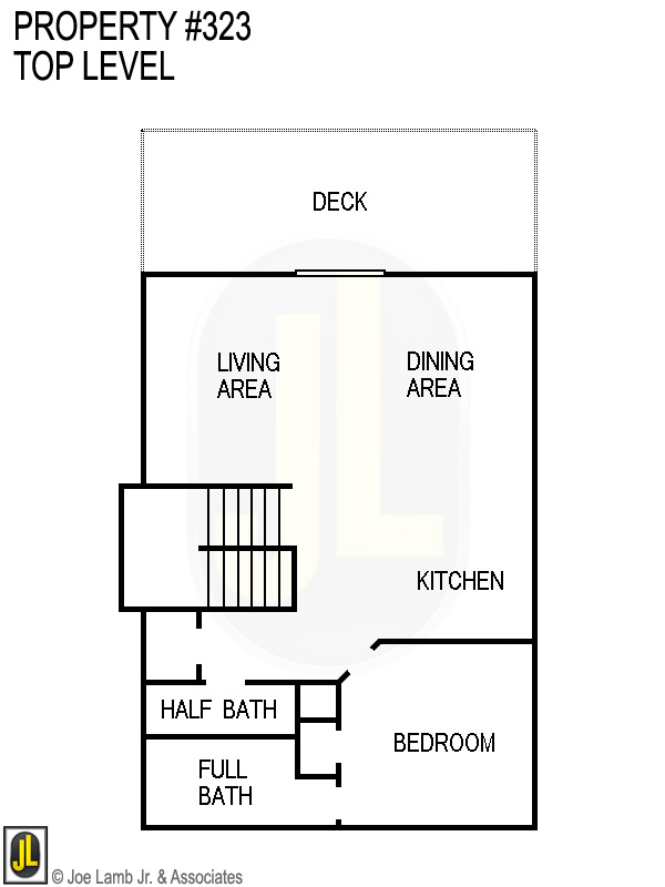 Floorplan: 323 Top Level