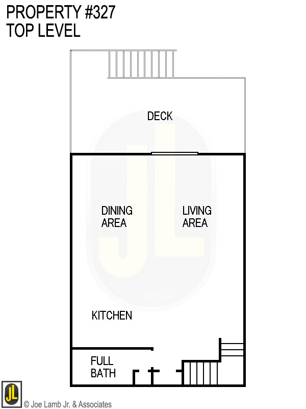 Floorplan: 327 Top Level