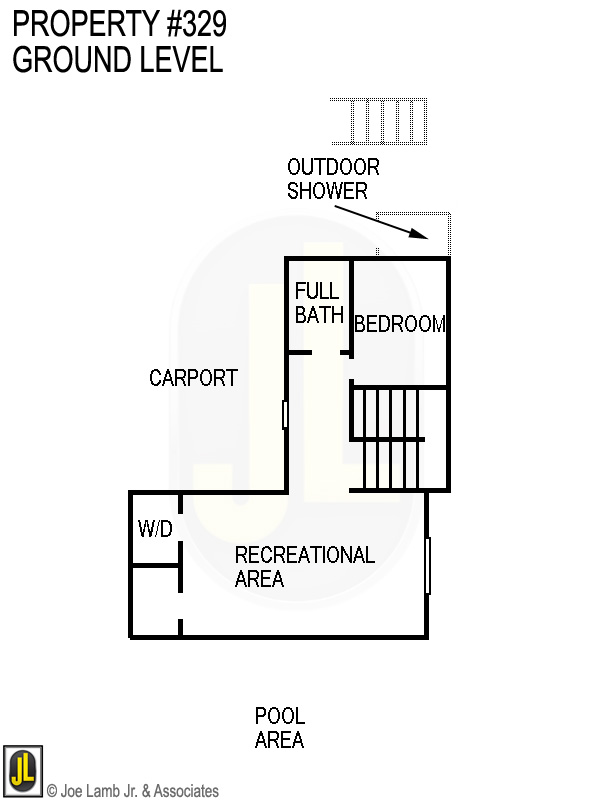 Floorplan: 329 Ground Level