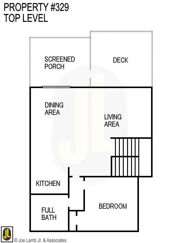 Floorplan: 329 Top Level