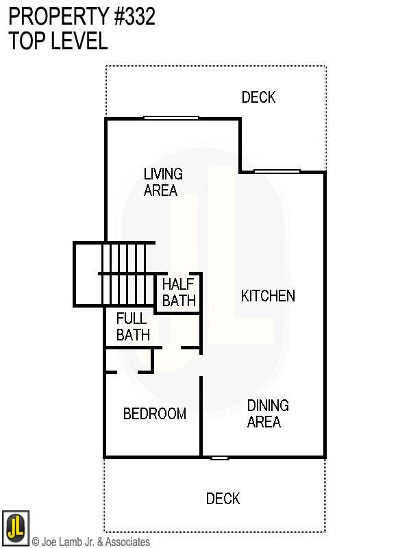 Floorplan: 332 Top Level