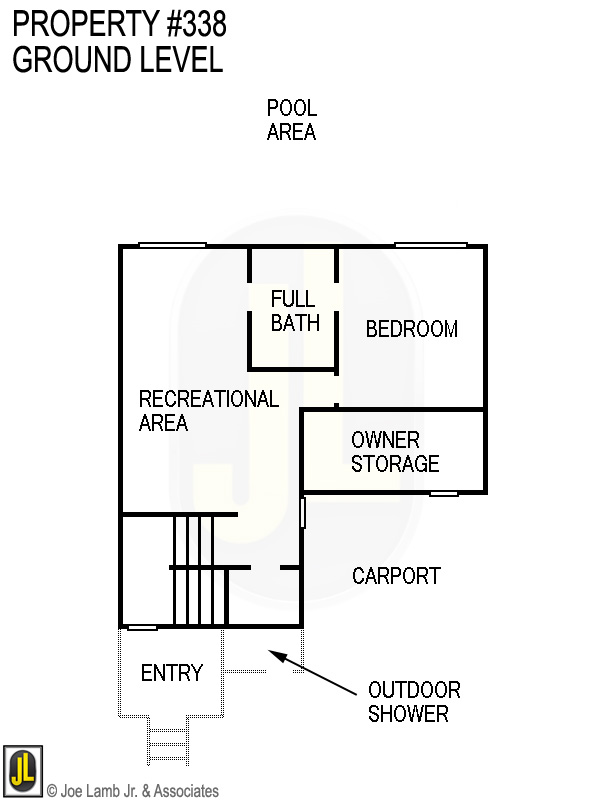 Floorplan: 338 Ground Level