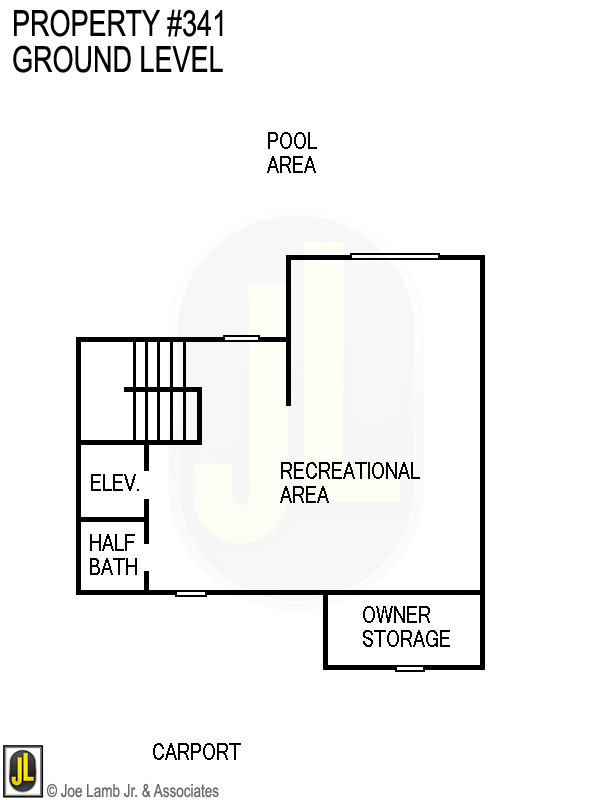 Floorplan: 341 Ground Level