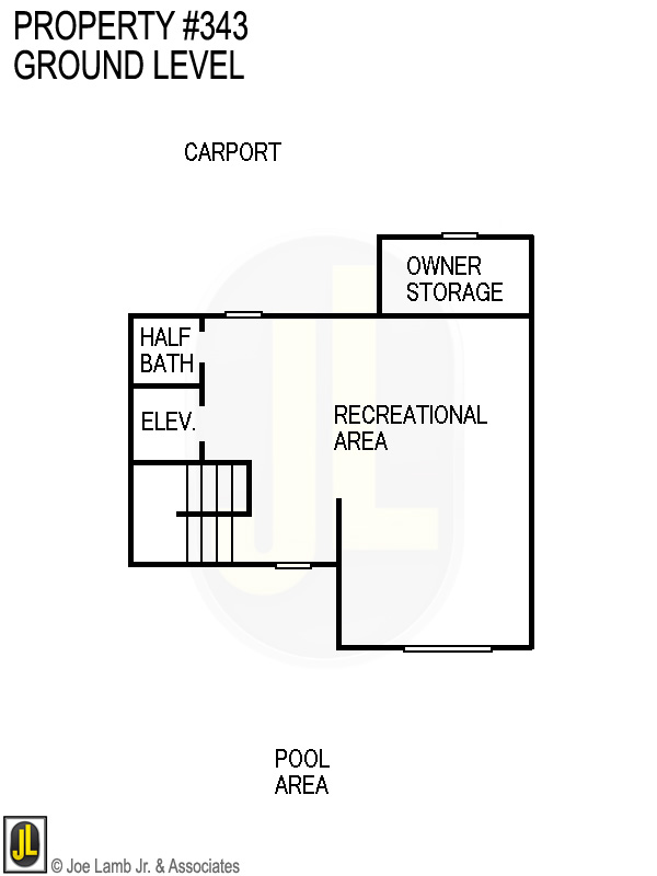 Floorplan: 343 Ground Level