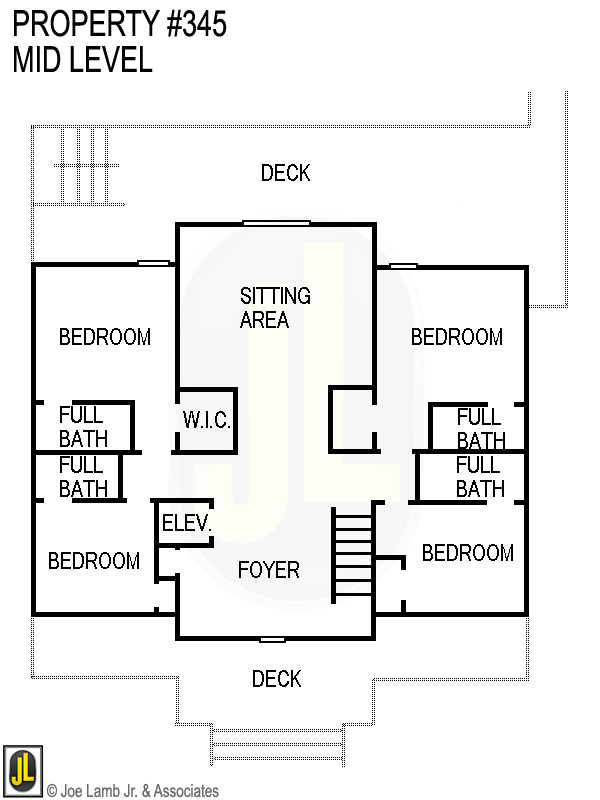 Floorplan: 345 Mid Level