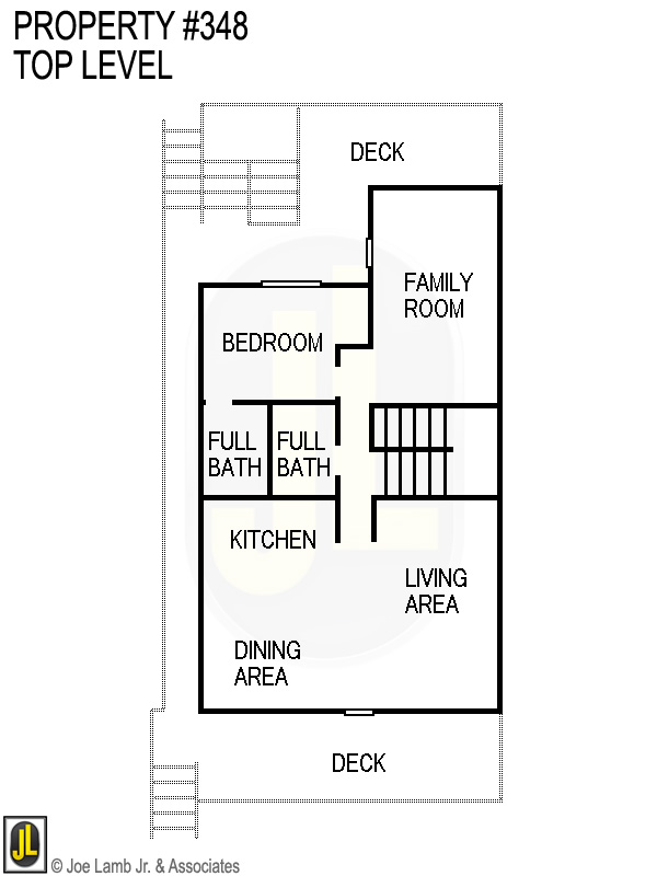 Floorplan: 348 Top Level