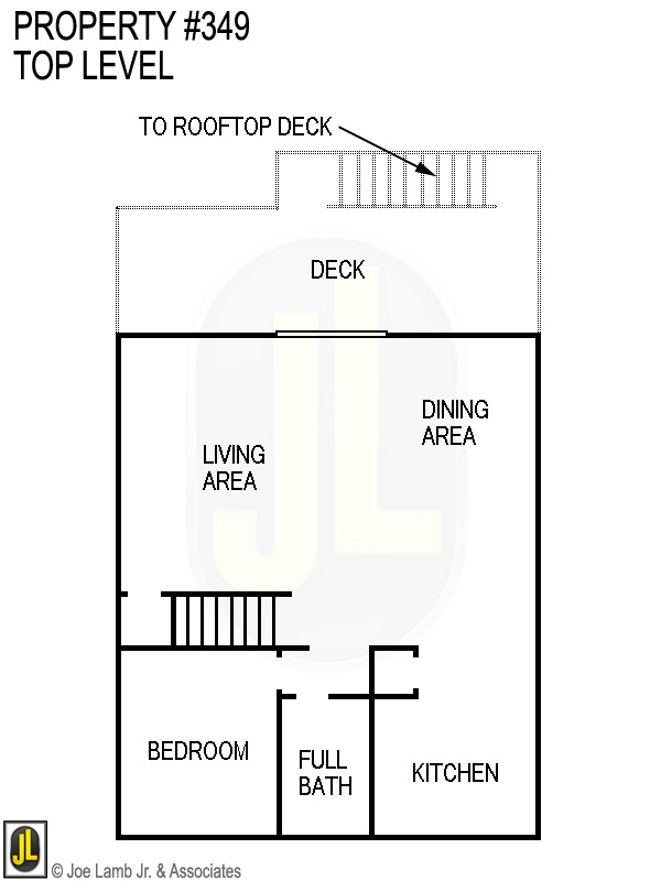 Floorplan: 349 Top Level