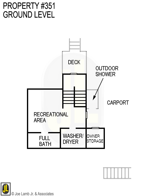 Floorplan: 351 Ground Level