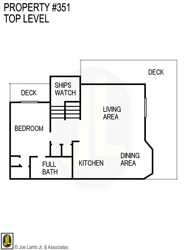 Floorplan: 351 Top Level