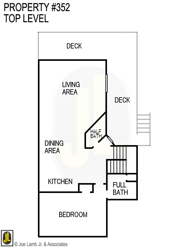 Floorplan: 352 Top Level