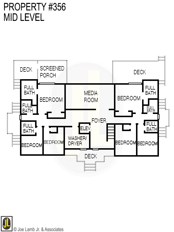 Floorplan: 356 Mid Level
