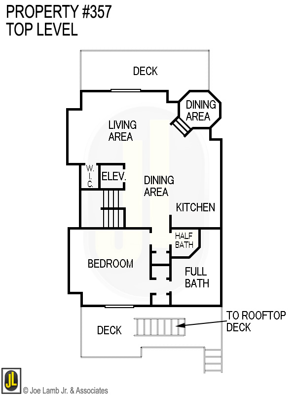 Floorplan: 357 Top Level