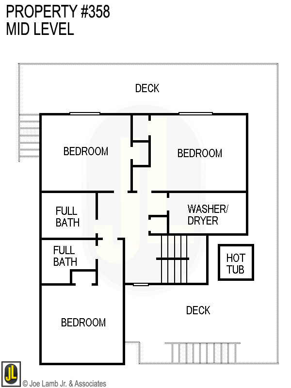 Floorplan: 358 Mid Level