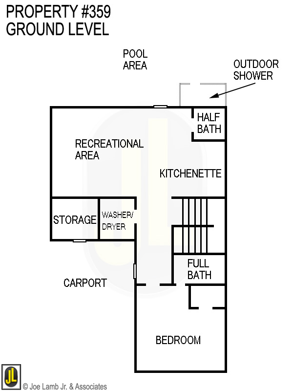 Floorplan: 359 Ground Floor